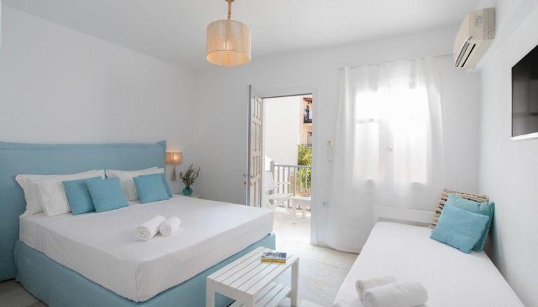 Το Ippokampos Apartments Ξενοδοχεία για όλες τις τσέπες στη Νάξο
