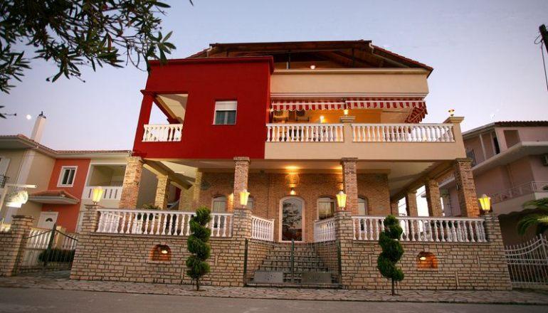 Το Villa Andreas Ammoudia