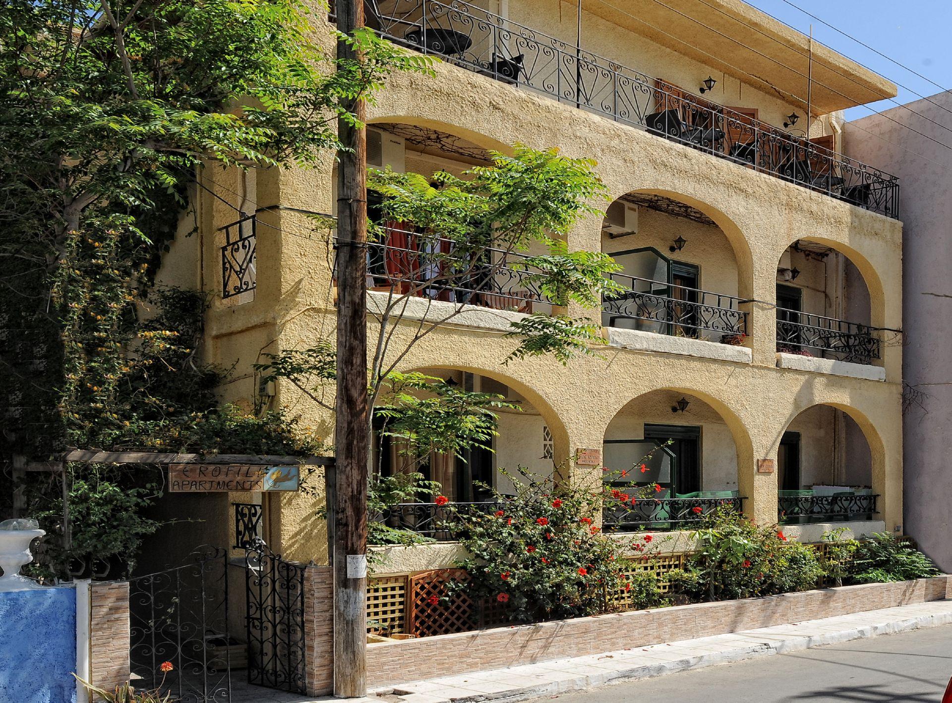 Erofili Apartments - Χερσόνησος, Κρήτη ✦ 2 Ημέρες (1 Διανυκτέρευση) ✦ 2 άτομα ✦ Χωρίς Πρωινό ✦ 01/09/2020 έως 30/09/2020 ✦ Free Wi-Fi