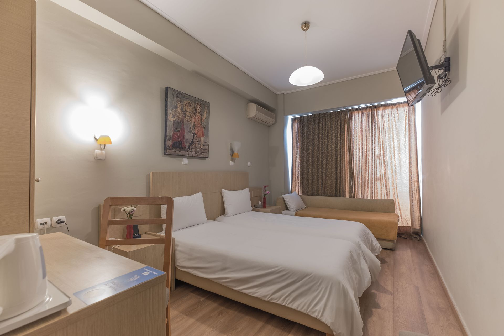 myATHENS Hotel - Αθήνα ✦ 2 Ημέρες (1 Διανυκτέρευση) ✦ 2 άτομα ✦ Πρωινό ✦ έως 29/04/2020 ✦ Free WiFi
