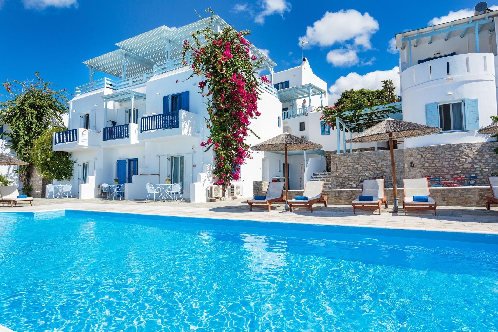 4* Pyrgaki Hotel - Πάρος ✦ 3 Ημέρες (2 Διανυκτερεύσεις) ✦ 2 άτομα ✦ Πρωινό ✦ 01/07/2021 έως 31/07/2021 ✦ Θαυμάσια Τοποθεσία!
