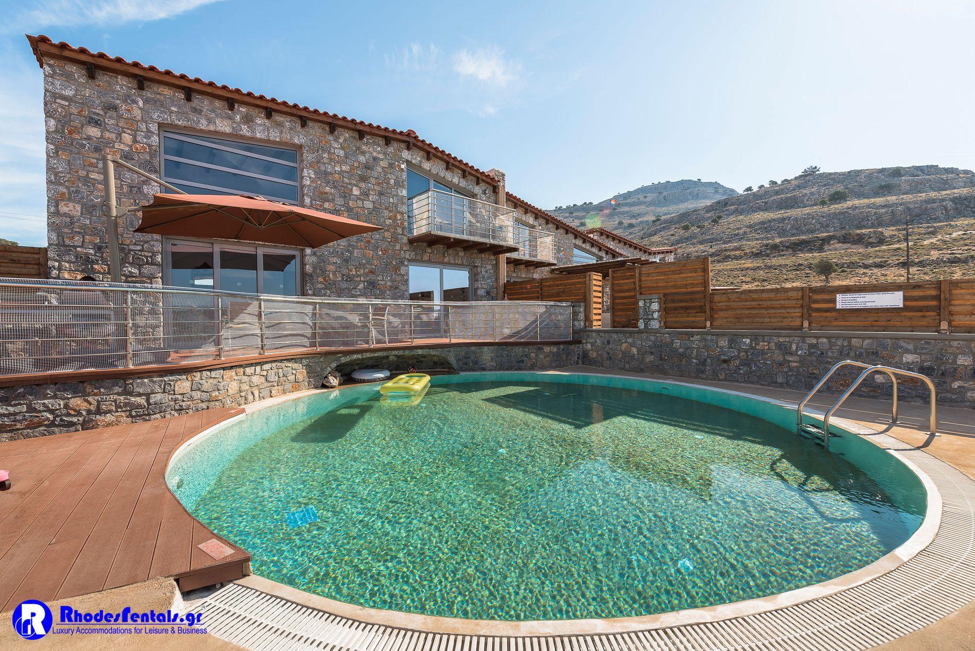 Lindos Seastone Villas Rhodes - Πεύκοι, Ρόδος ✦ 2 Ημέρες (1 Διανυκτέρευση) ✦ 2 άτομα ✦ Χωρίς Πρωινό ✦ 01/09/2020 έως 30/09/2020 ✦ Free WiFi