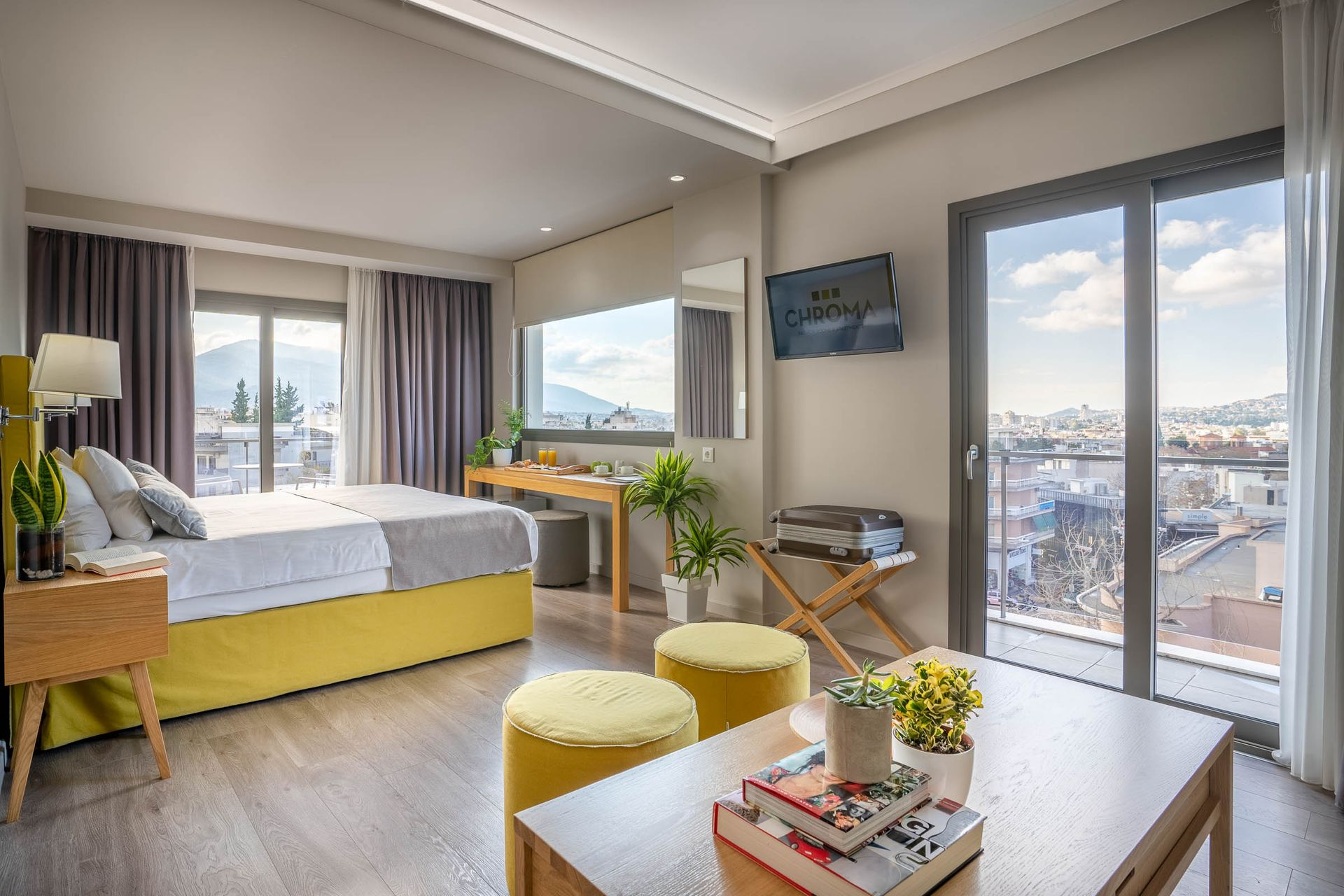 Chroma Fashion Rooms & Apartments Athens - Αθήνα ✦ 2 Ημέρες (1 Διανυκτέρευση) ✦ 2 άτομα ✦ Χωρίς Πρωινό ✦ έως 09/05/2021 ✦ Free Wi - Fi