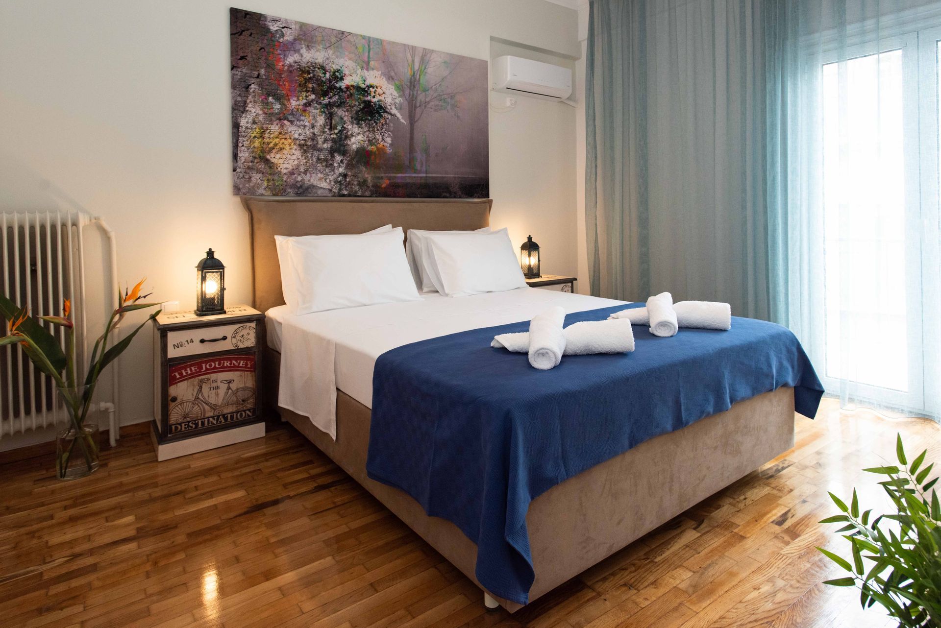 Blue Ark Stylish Athens - Αθήνα ✦ 2 Ημέρες (1 Διανυκτέρευση) ✦ 2 άτομα ✦ Χωρίς Πρωινό ✦ έως 28/04/2021 ✦ Free WiFi!