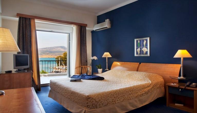 Προσφορά Ekdromi - 57€ από 114€ ( Έκπτωση 50%) ΚΑΙ για τις 2 ημέρες / 1 διανυκτέρευση ΚΑΙ για τα 2 Άτομα σε δίκλινο δωμάτιο με Θέα στη Θάλασσα και Πλούσιο Πρωινό σε Μπου...
