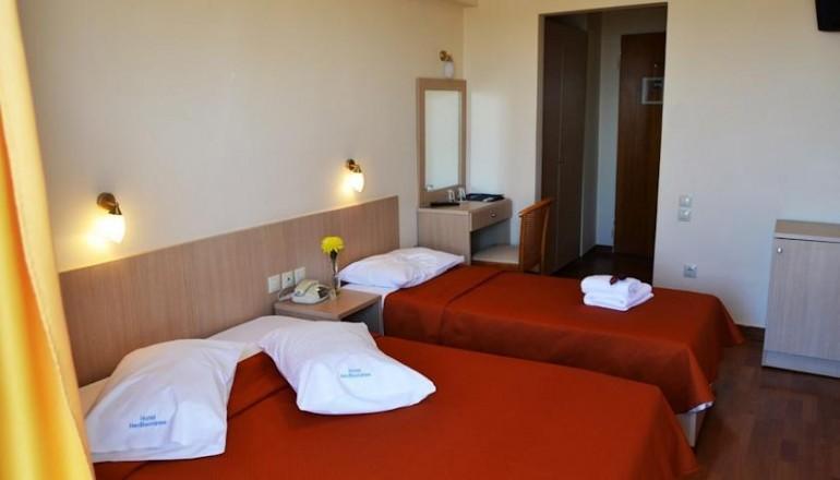 Mediterranee Hotel - Πάτρα - 39€ από 80€ ( Έκπτωση 51%) ΚΑΙ για τις 2 ημέρες / 1 διανυκτέρευση ΚΑΙ για τα 2 Άτομα KAI ένα Παιδί έως 12 ετών στην Πάτρα, στο Mediterranee Hotel σε δίκλινο δωμάτιο με Πρωινό σε Μπουφέ! Παρέχεται Early check in στις 10:00 και Late check out στις 19:00 για να απολαύσετε 2 γεμάτες ημέρες στην Πανέμορφη Πόλη! Υπάρχει δυνατότητα επιπλέον διανυκτερεύσεων!