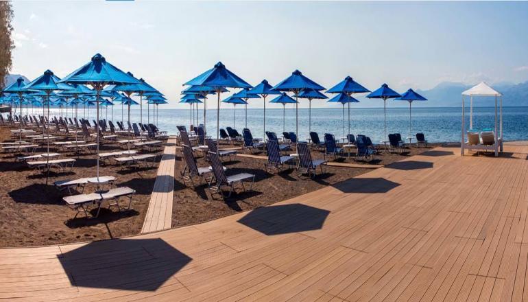 28η Οκτωβρίου στην Ερατεινή Φωκίδας, στο 4 αστέρων Delphi Beach Hotel! Απολαύστε 3 ημέρες / 2 διανυκτερεύσεις ΚΑΙ για τα 2 Άτομα ΚΑΙ ένα Παιδί έως 12 ετών, με Ημιδιατροφή (Πρωινό και Βραδινό σε Μπουφέ) σε δίκλινο δωμάτιο, μόνο με 170€ από 340€ ( Έκπτωση 50%)! Προσφέρεται Welcome Drink για καλωσόρισμα! Παρέχεται Early check in και Late check out κατόπιν διαθεσιμότητας! εικόνα