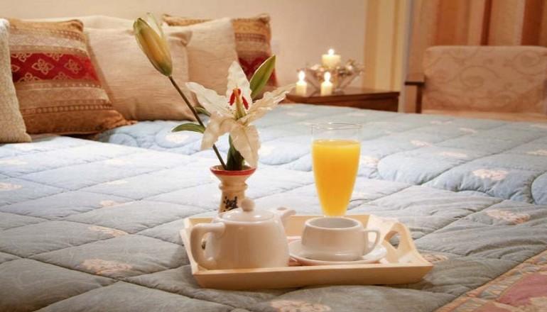89€ από 180€   2 διανυκτερεύσεις KAI για τα 2 Άτομα στους Δελφούς  με Πρωινό στο Hermes Hotel! εικόνα