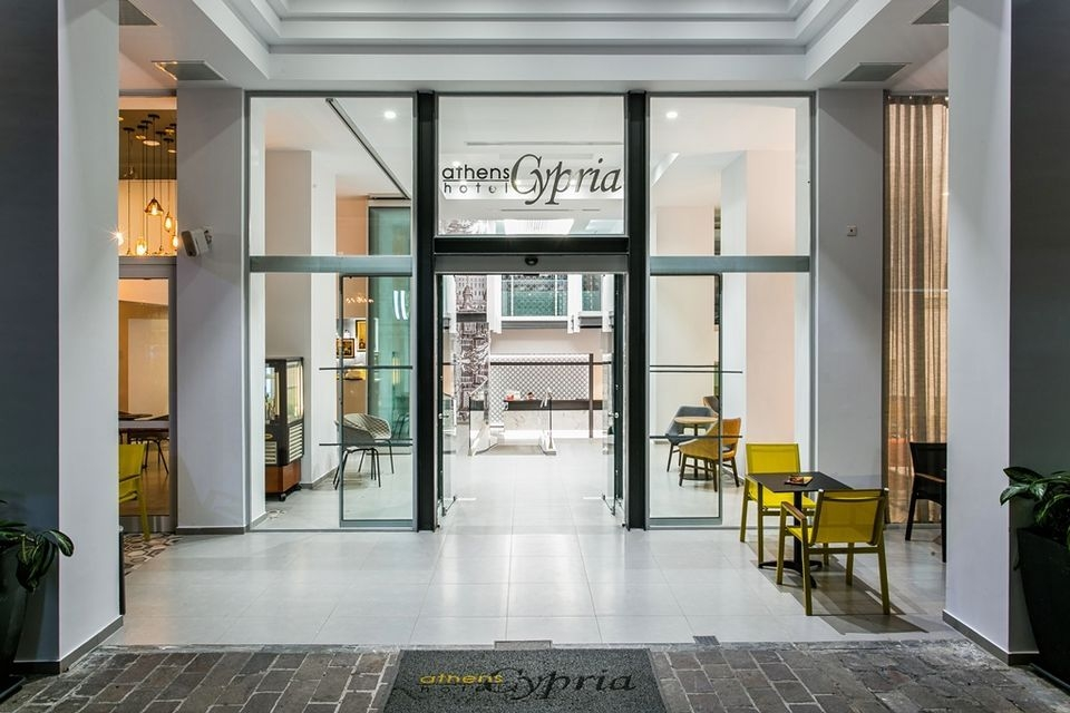 4* Athens Cypria Hotel - Αθήνα ? 2 Ημέρες (1 Διανυκτέρευση) ? 2 άτομα ? Πρωινό ? έως 30/04/2020 ? Free WiFi