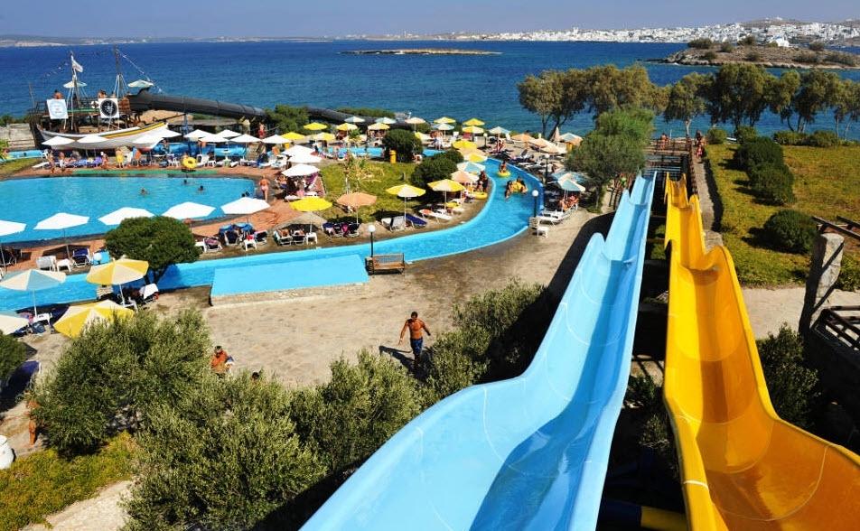 4* Porto Paros Hotel Villas & Aqua Park - Κολυμπήθρες, Πάρος   -38%   6 Ημέρες (5 Διανυκτερεύσεις)   2 άτομα + 2 παιδιά 1 έως 12 και 1 έως 6 ετών   Πλήρης Διατροφή + Ποτά   έως 28/07/2019 και 27/08 έως 31/08   Ελληνικό ψυχαγωγικό πρόγραμμα μια φορά την εβδομάδα!