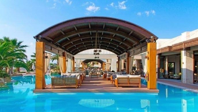 5* Mediterranean Village Hotel & Spa - Παραλία Κατερίνης ? -30% ? 6 Ημέρες (5 Διανυκτερεύσεις) ? 2 άτομα + 2 παιδιά 1 έως 3 και 1 έως 7 ετών ? Ημιδιατροφή ? 11/07/2020 έως 28/08/2020 ? Ελεύθερη πρόσβαση στο κέντρο Ευεξίας Spa Venus!