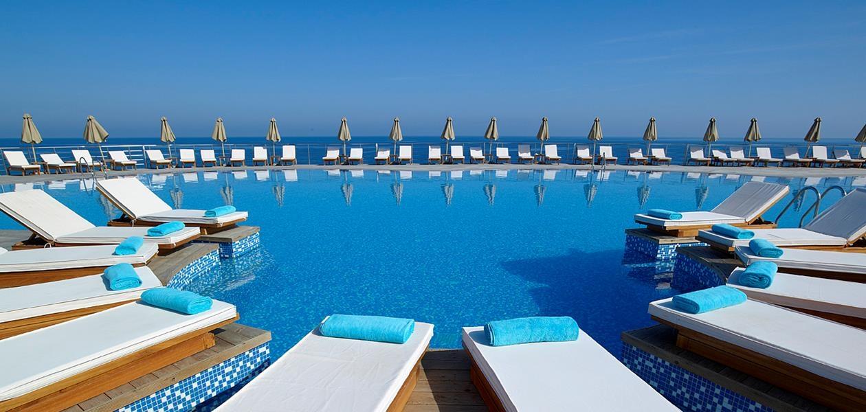 5* The Rοyal Blue Resort - Ρέθυμνο, Κρήτη ? 6 Ημέρες (5 Διανυκτερεύσεις) ? 2 Άτομα ? Ημιδιατροφή ? έως 30/09/2018 ? Free WiFi!