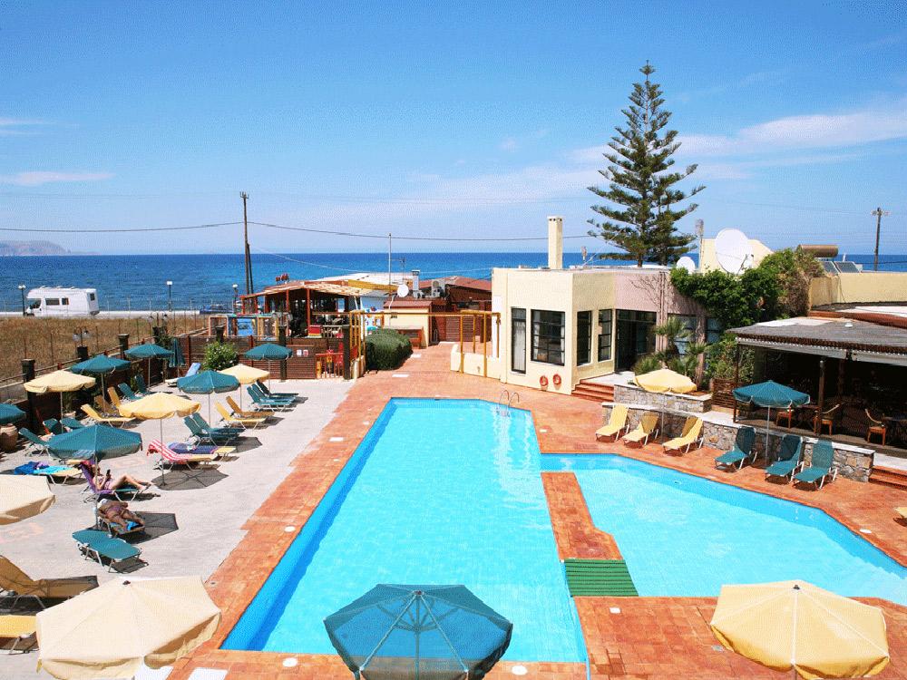 Kaissa Beach Hotel – Γουβες, Ηρακλειο ✦ -30% ✦ 4 Ημερες (3 Διανυκτερευσεις) ✦ 2 Άτομα ΚΑΙ ενα Παιδι εως 12 ετων ✦ Ημιδιατροφη ✦ 21/06 εως 18/07 και 01/09 εως 12/09 ✦ Εξωτερικη πισινα