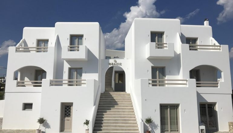 Theasis Luxury Suites - Σχοινούσα