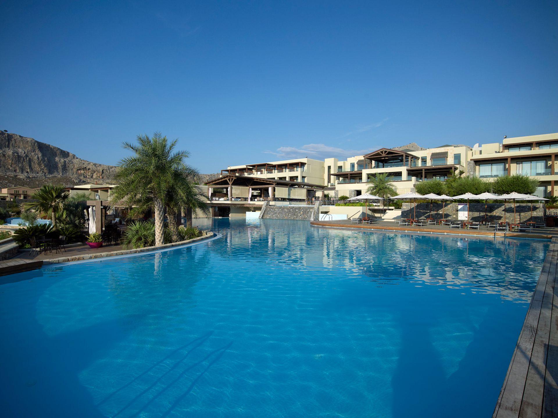 5* Aquagrand Exclusive Deluxe Resort – Λινδος, Ροδος ✦ 3 Ημερες (2 Διανυκτερευσεις) ✦ 2 Άτομα ✦ Ημιδιατροφη ✦ 01/06/2019 εως 30/06/2019 ✦ Μπροστα στην Παραλια!