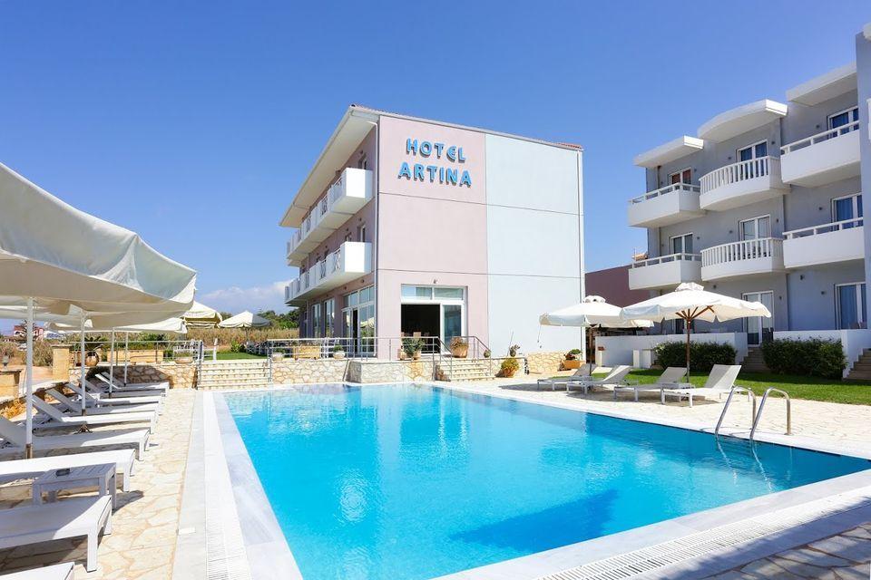 Artina Hotel - Μαραθόπολη, Μεσσηνία ✦ 4 Ημέρες (3 Διανυκτερεύσεις) ✦ 2 άτομα + 1 παιδί έως 6 ετών ✦ Πρωινό ✦ 01/09/2021 έως 30/09/2021 ✦ Υπέροχη Τοποθεσία!