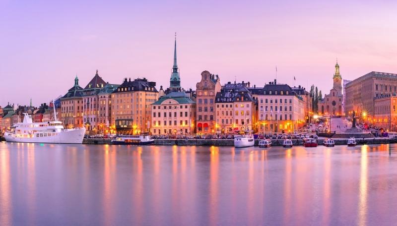 5 Ημέρες Χριστούγεννα - Στοκχόλμη εικόνα