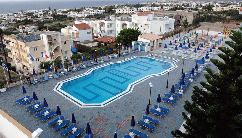 Koni Village Hotel Apartments - Σταλίδα Ηρακλείου Κρήτης ? -28% ? 4 Ημέρες (3 Διανυκτερεύσεις) ? 2 Άτομα ΚΑΙ ένα Παιδί έως 6 ετών ? All Inclusive ? 01/06 έως 07/07 και 28/08 έως 29/09 ? Κοντά σε Παραλία!