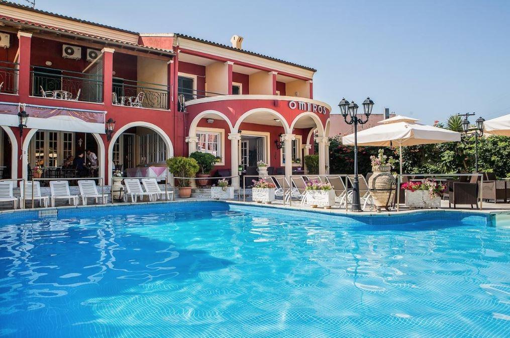 Omiros Hotel- Κερκυρα ✦ -25% ✦ 4 Ημερες (3 Διανυκτερευσεις) ✦ 2 Άτομα ✦ Πρωινο ✦ 06/07/2019 εως 28/08/2019 ✦ Free WiFi!