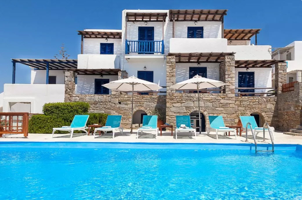 San Antonio Summer House Paros - Πάρος ✦ 3 Ημέρες (2 Διανυκτερεύσεις) ✦ 2 άτομα + 1 παιδί έως 12 ετών ✦ Πρωινό ✦ 01/09/2021 έως 30/09/2021 ✦ Early check in και Late check out κατόπιν διαθεσιμότητας!