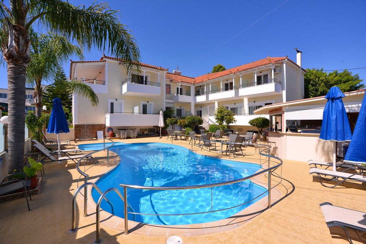 Theoxenia Hotel Apartments - Μεσσηνία ? -35% ? 4 Ημέρες (3 Διανυκτερεύσεις) ? 2 Άτομα ΚΑΙ ένα Παιδί έως 8 ετών ? Πρωινό ? 03/08/2018 έως 20/08/2018 ? Κοντά σε Παραλία!